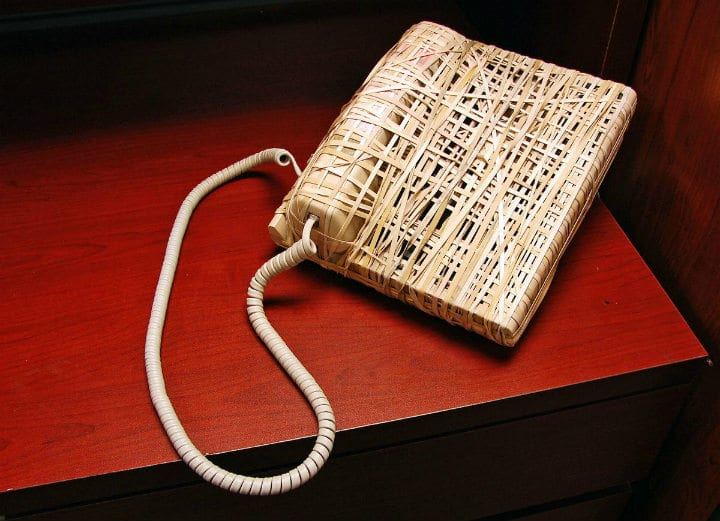 rubber band phone telephone pranks