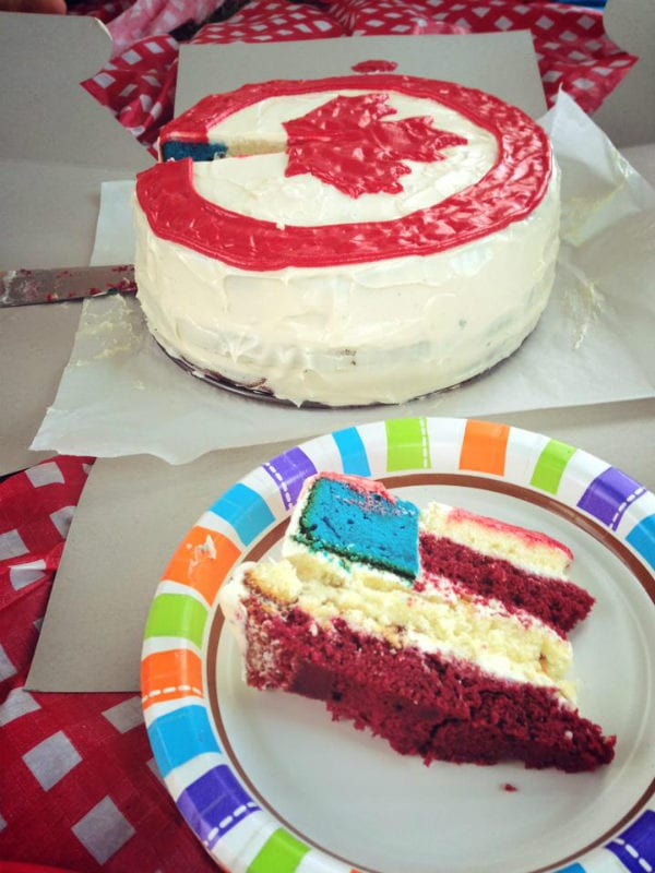 canadian canada usa america american cake pranks food