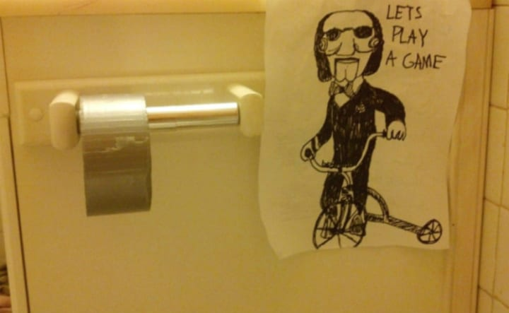toilet paper pranks