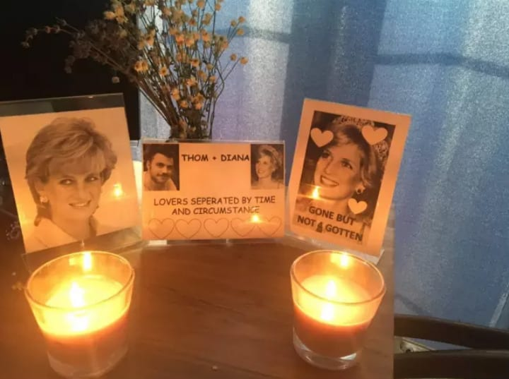 princess diana shrine roommate pranks prank