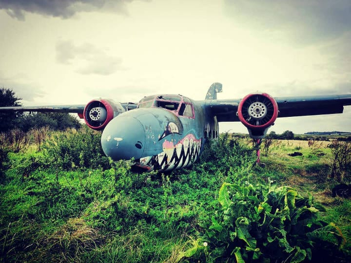 england raf english stratford upon avon plane wrecks