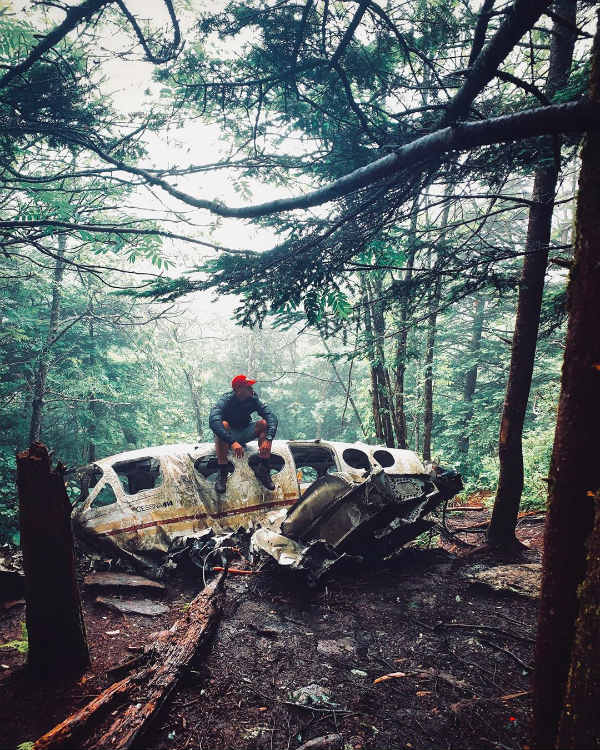 north carolina american mountains forest plane wrecks