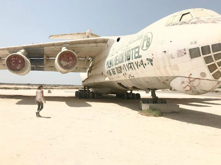 uae united arab emirates plane wrecks