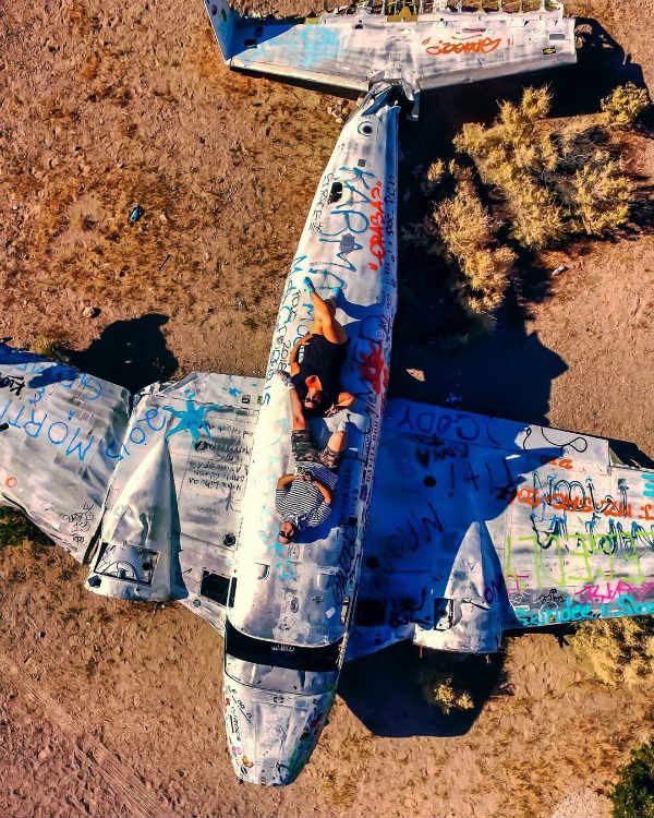 nevada plane wrecks