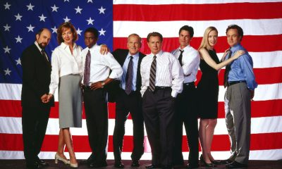 the-west-wing-cast-flag