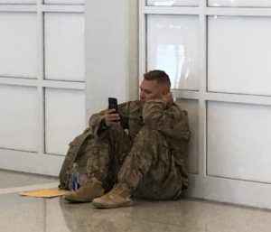 crying soldier crying