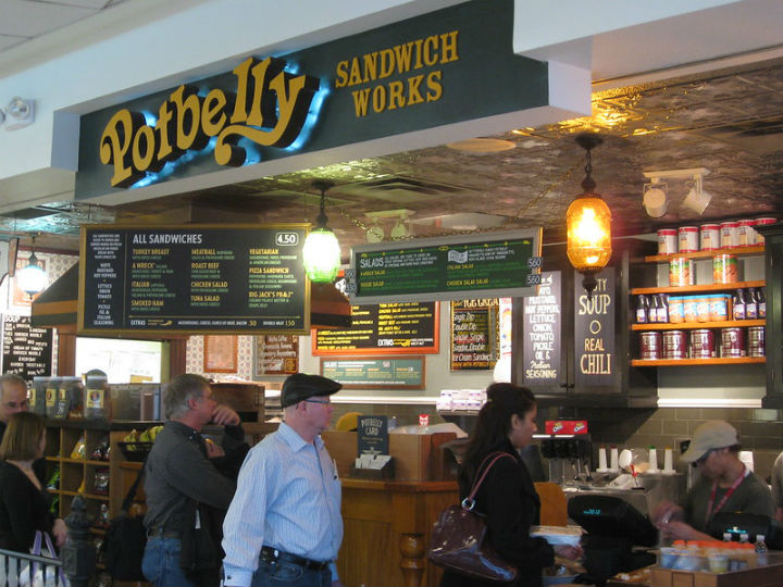 potbelly sandwich restaurants closing