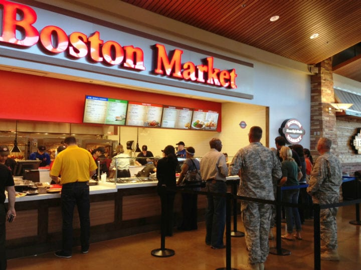 boston market chicken restaurants closing