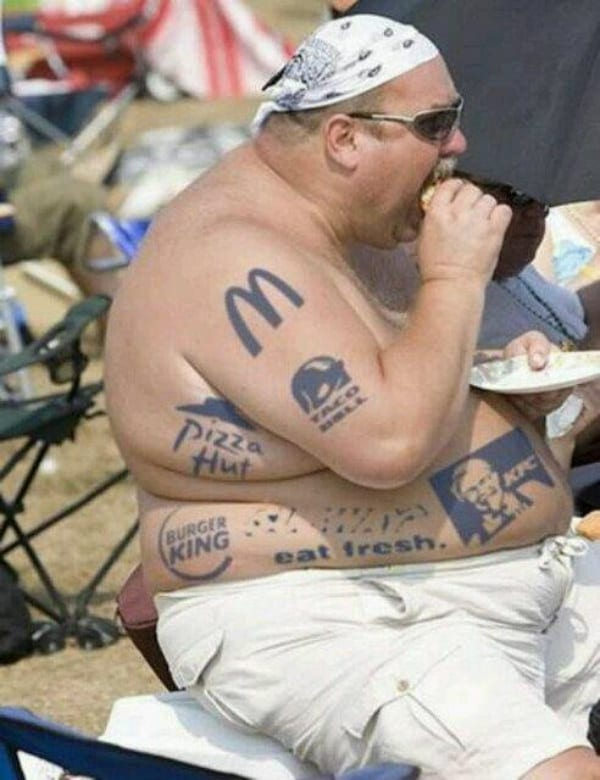 Bad Tattoos fast food