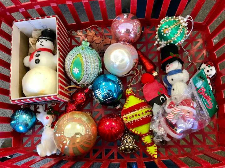 Christmas ornaments antiques