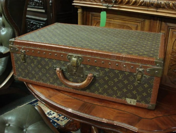 Louis Vuitton Steamer trunk antique
