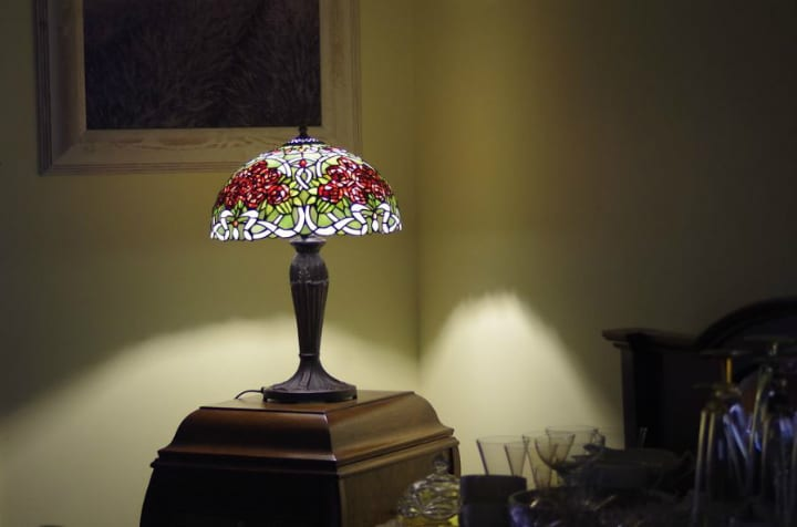 Tiffany lamp antiques