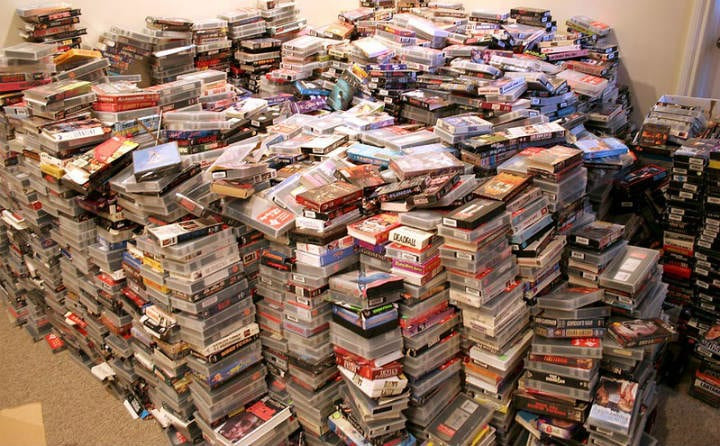 VHS tapes antiques