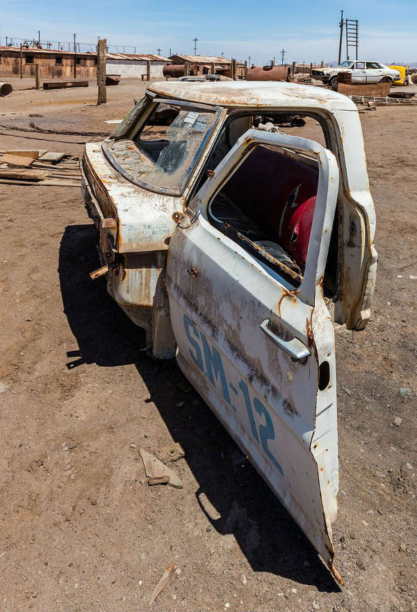 abandoned vehicles chile unesco