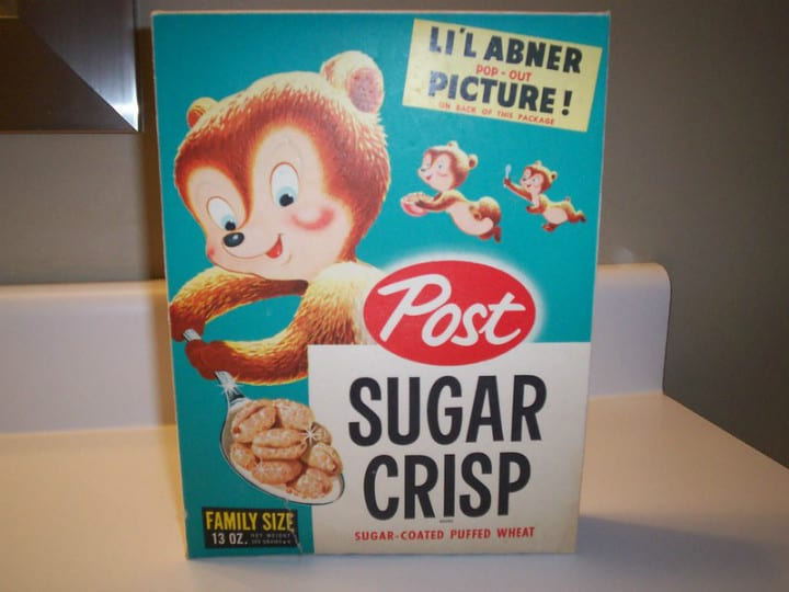 cereal boxes antiques