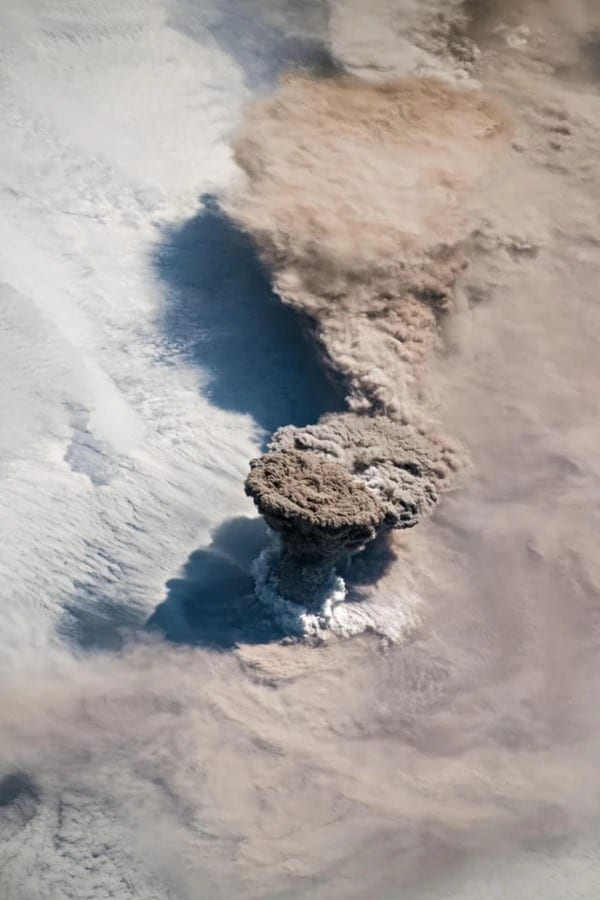ISS international space station volcano