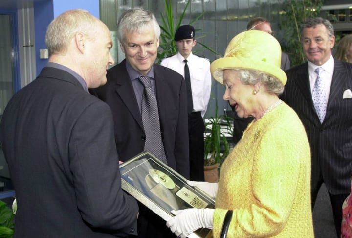 Golden Record Queen Elizabeth Possessions