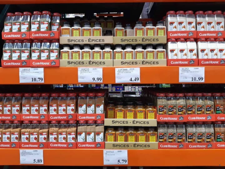 Spices costco deals