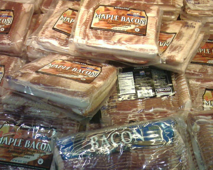 bacon costco deals
