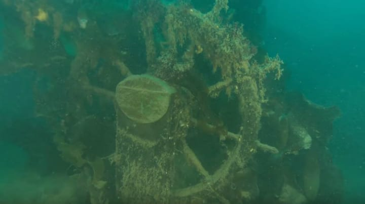 Ancient Shipwreck HMS Terror