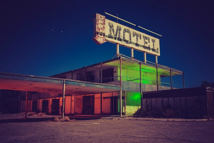 Moonlight Motel abandoned hotels