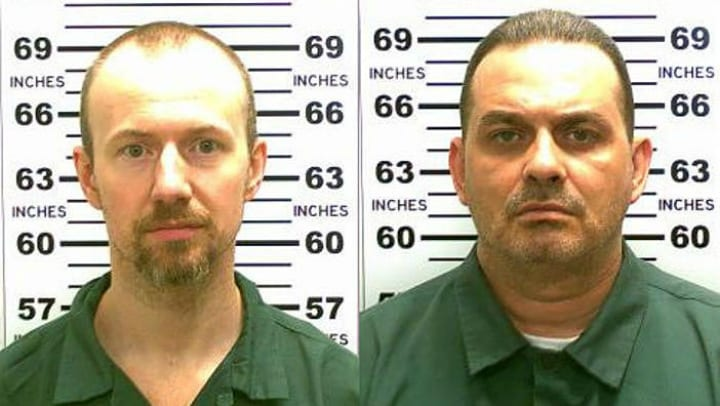 Richard Matt and David Sweat prison escapes