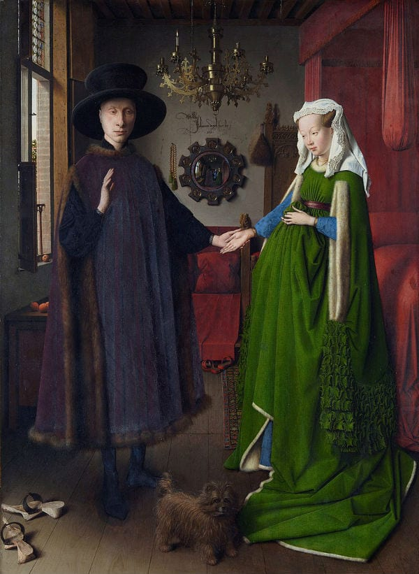 The Arnolfini Portrait hidden details