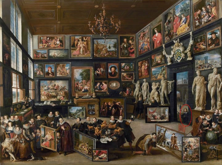 The Gallery of Cornelis hidden details