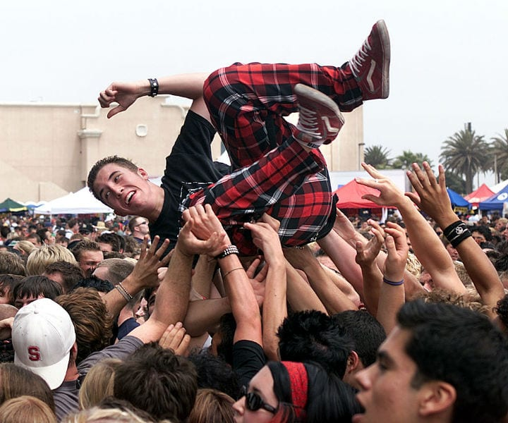 Warped Tour music festivals