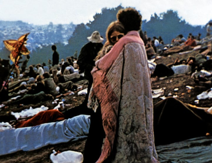 Woodstock music festivals