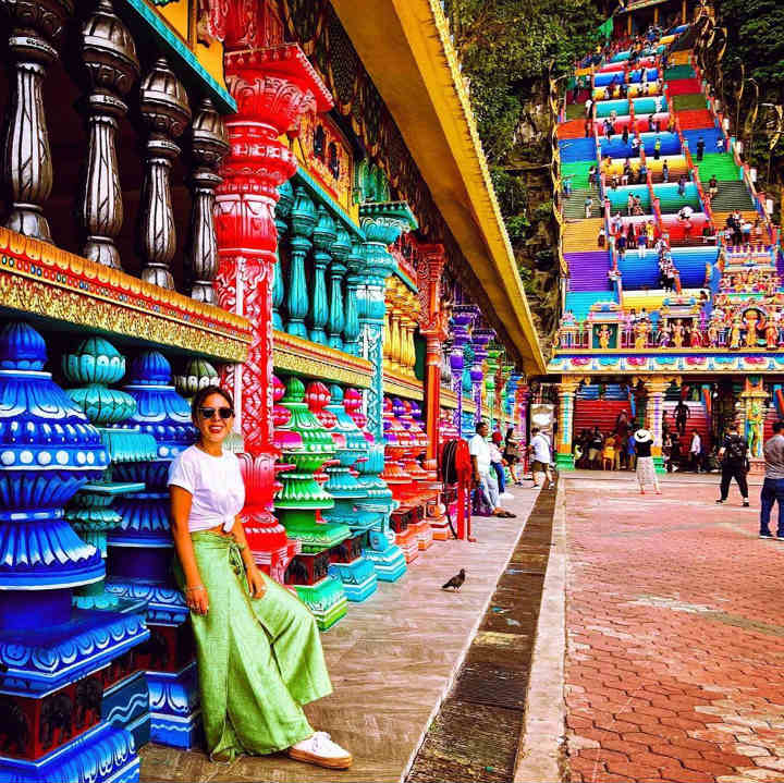 Batu Caves colorful places