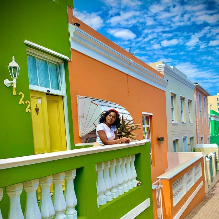 Bo Kaap South Africa colorful places