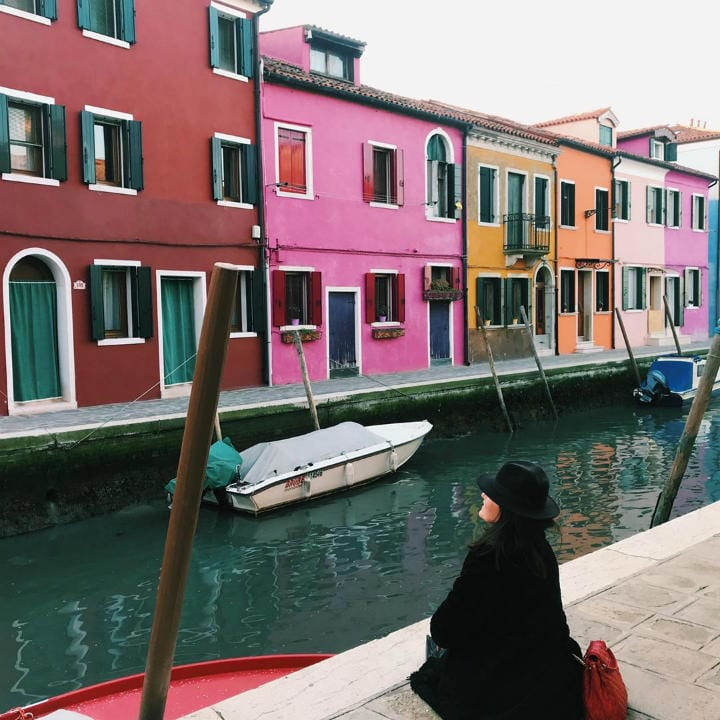 Burano Italy colorful places