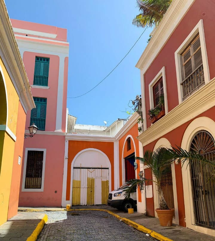 Old San Juan Puerto Rico colorful places