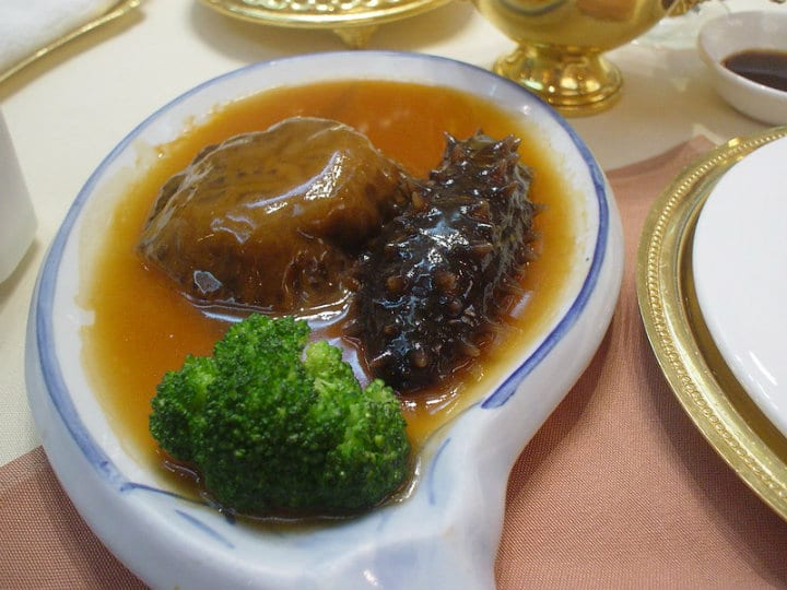 Sea Cucumber chinese foods