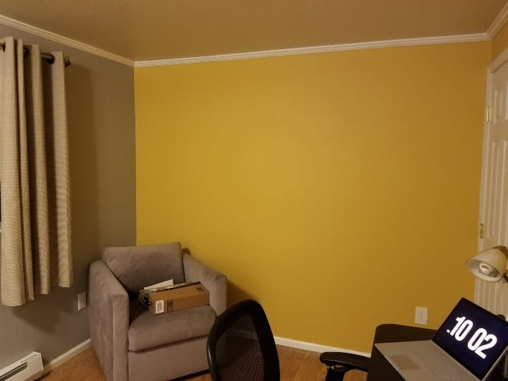Interior design mistakes paint color