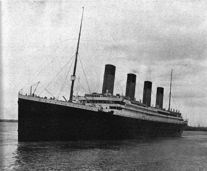Titanic ship full view