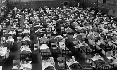 Asian flu full hospital beds
