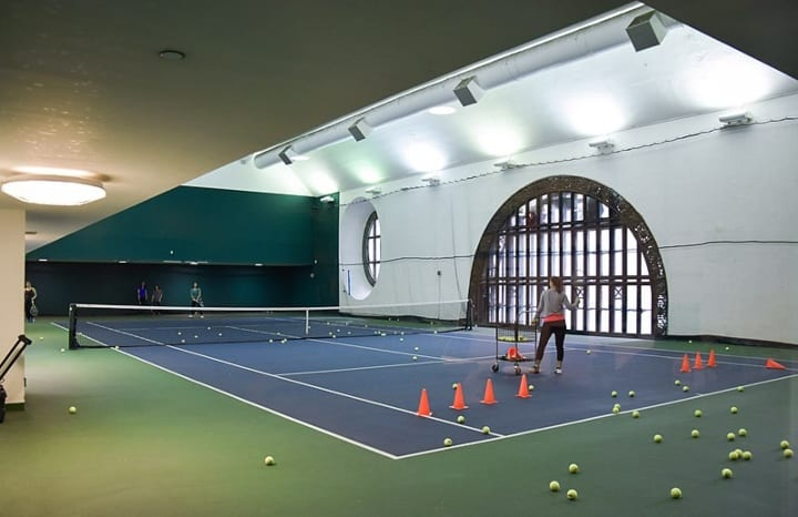 Grand Central Station Vanderbilt Tennis Court landmark