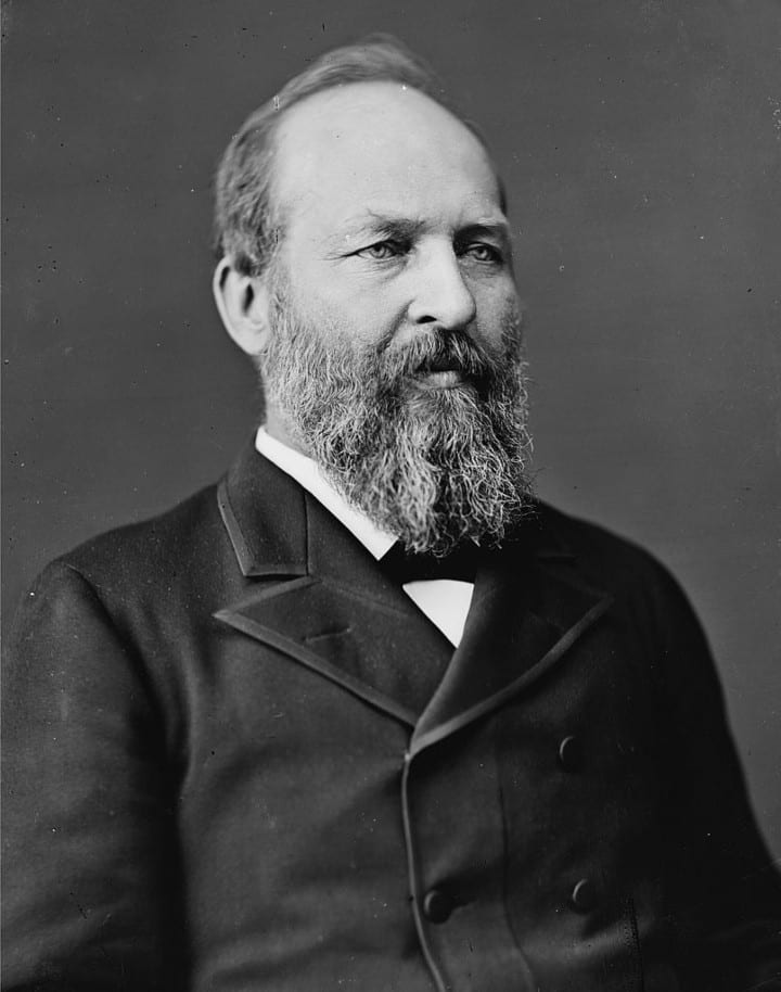 President Garfield highest IQ