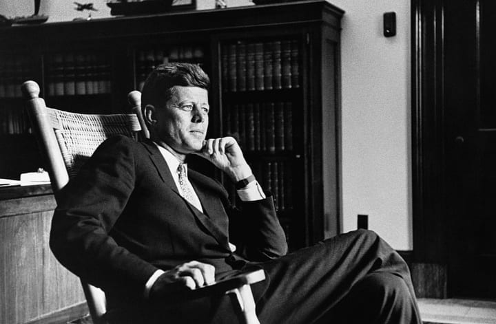 President Kennedy highest IQ