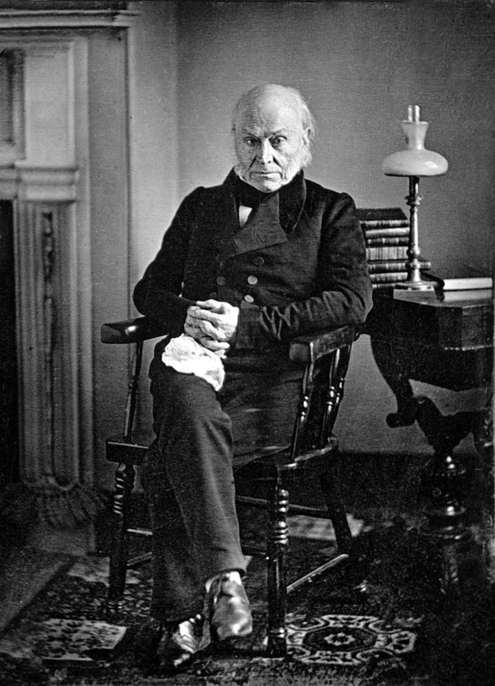 President Quincy Adams highest IQ