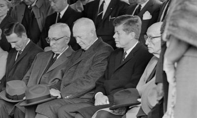 Presidents Harry S. Truman, Dwight D. Eisenhower, and John F. Kennedy
