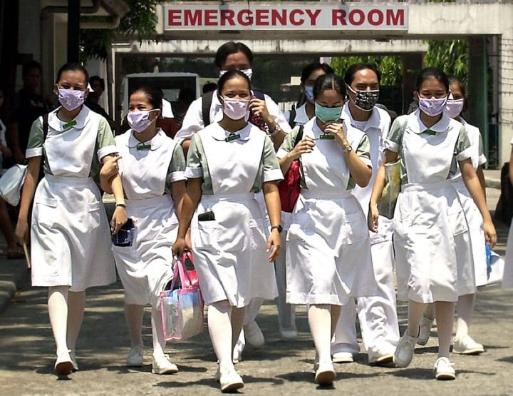 SARS pandemic young nurses