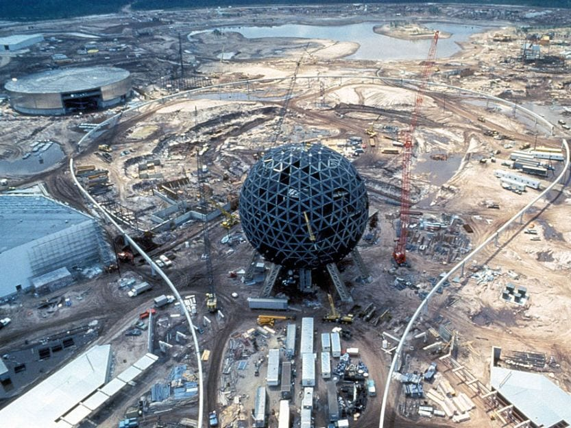 Building Disney World Epcot