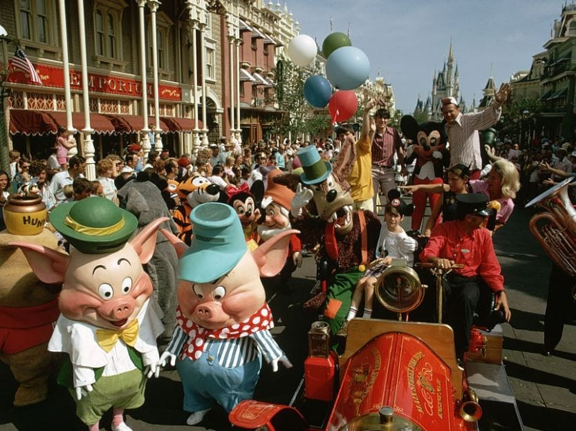 Disney World Parade Opening
