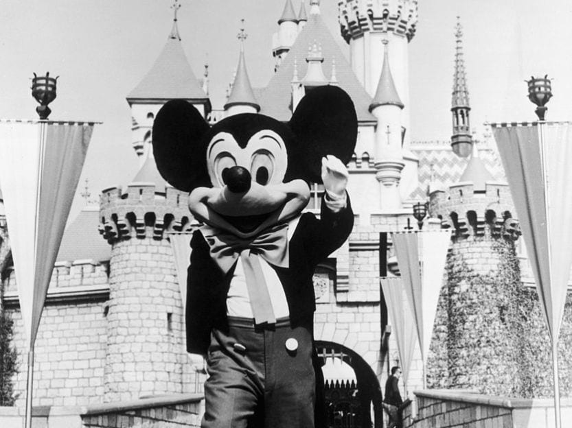 Mickey Mouse Disney World Opening