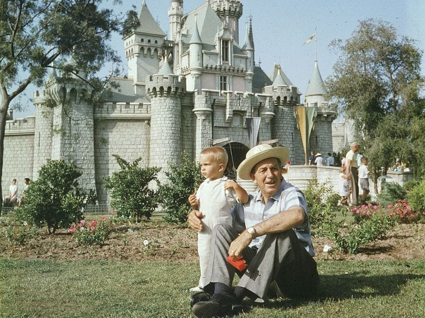 Walt Disney in Disney World