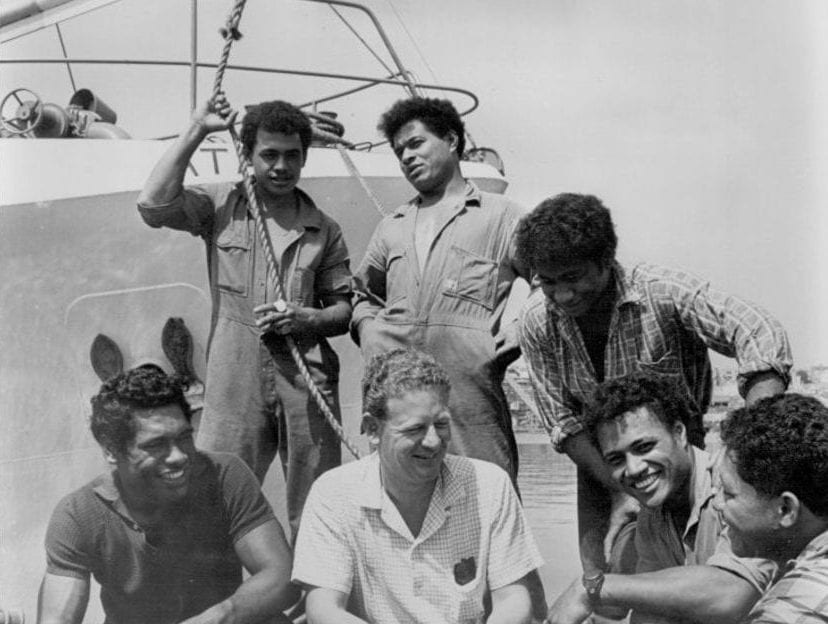 Peter Warner and Tongo Boys stranded