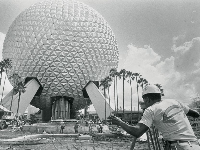 Building Epcot Disney World